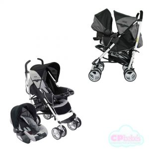 Travel System Cross Gris